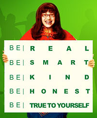ABC & Girl, Inc's public service campaign: BE UGLY '07
