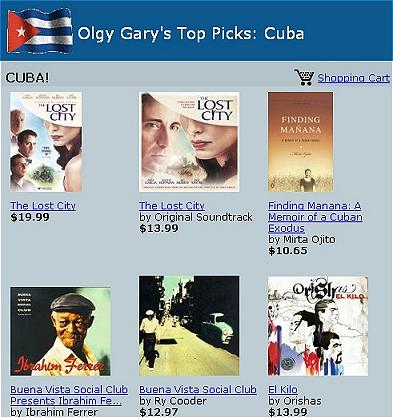 Shop for Cuban products at Olgy's Cuban eStore!