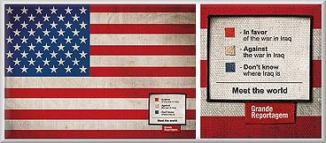 Meet the World flag campaign