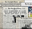 Image of archived NY Time newspapers
