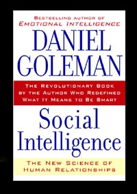 book cover: Social Intelligence, by Daniel Goleman